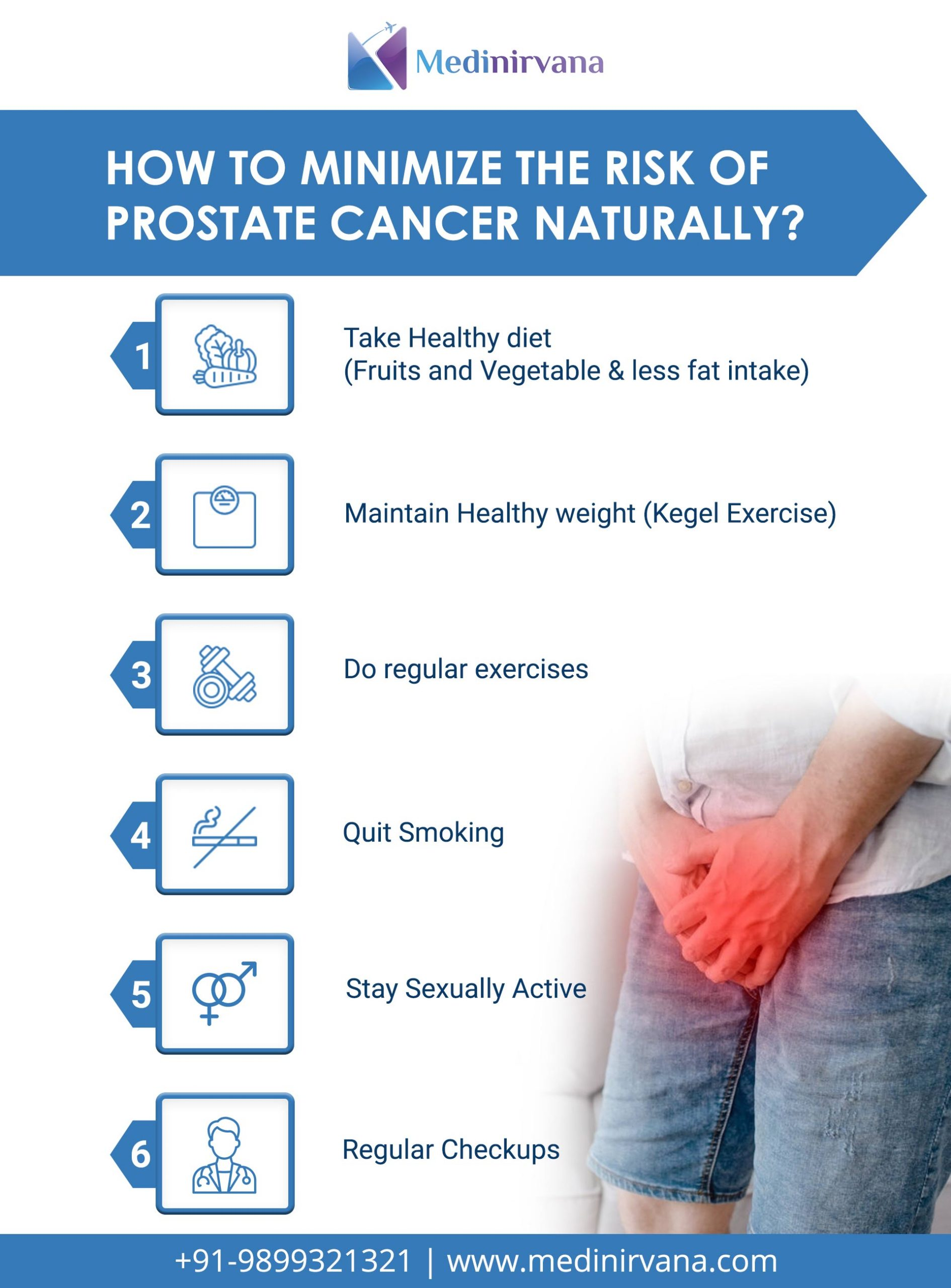 How to Minimize the Risk of Prostate Cancer